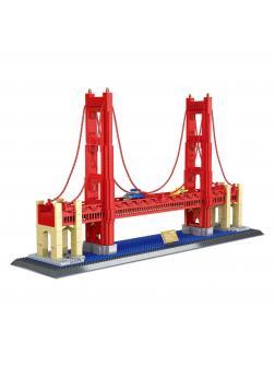 Конструктор Wange «Мост Golden Gate Bridge Сан-Франциско» 6210 / 2038 деталей