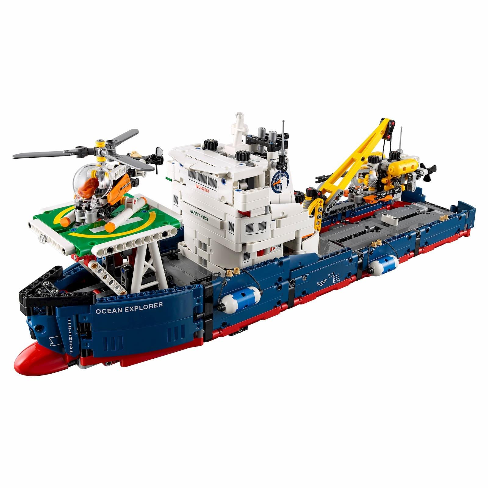 Конструктор Decool «Исследователь океана» 3370 (Technic 42064) / 1342 детали