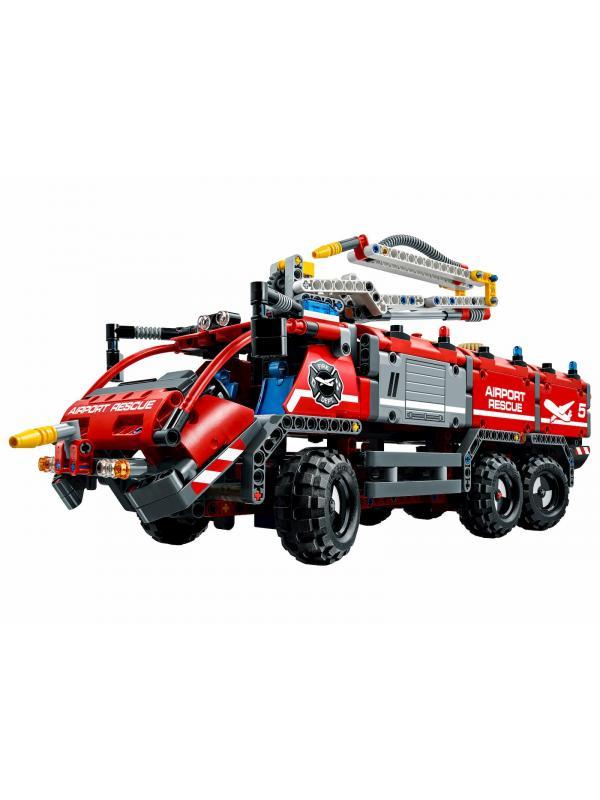 Конструктор Decool «Автомобиль спасательной службы аэропорта» 3371 (Technic 42068) / 1110 деталей