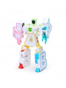 Алфавит-трансформер 6 в 1 «Робот для дома» K11703