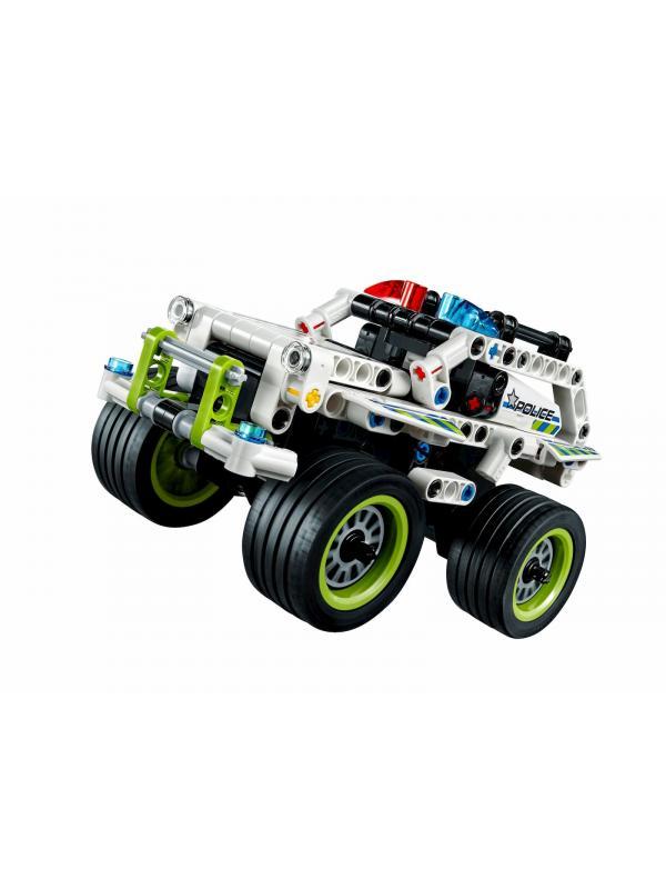 Конструктор JiSi Bricks «Полиция Перехватчик» 3418 (Technic 42047) / 185 деталей