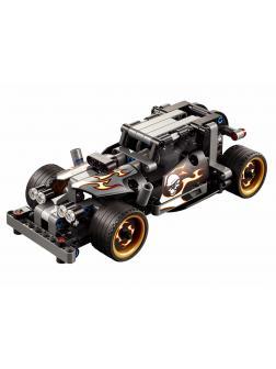 Конструктор JiSi Bricks «Гоночный автомобиль для побега» 3417 (Technic 42046) / 170 деталей