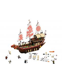 Конструктор Ll «Летающий корабль мастера Ву» 31076 (НиндзяГо Movie 70618) 2337 деталей