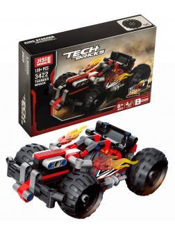 Конструктор JiSi Bricks «Красный спорткар» 3422 (Technic 42073) / 139 деталей