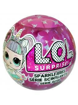 Кукла L.O.L. Surprise Sparkle Series (Кукла ЛОЛ Гламурная) в шаре 55965