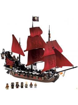 Конструктор SY «Месть королевы Анны» S7322 (Pirates of the Caribaean 4195) / 1228 деталей