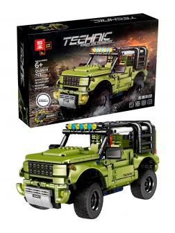 Конструктор ZHE GAO «Land Rover Defender» QL0424 / 763 детали