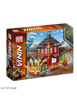 Конструктор PRCK «Корабль Ниндзяго Кружитцу» 61068 (Ninjago) 503 детали