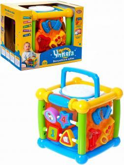 Развивающая игрушка Play Smart  «Волшебный кубик» 7502 Умняга, световые и звуковые эффекты