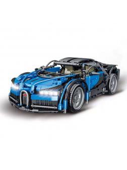 Конструктор MORK «Bugatti» 1:14 MOC 023001-1 (Technic 42083) / 1225 деталей