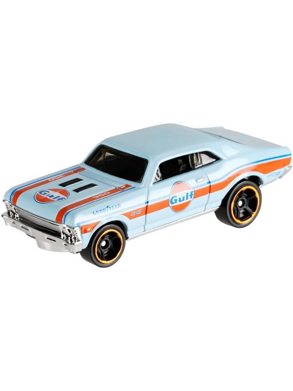 Машинка Базовая модель Hot Wheels «'68 Chevy® Nova™» 7/10