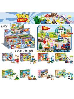 Конструктор Sheng Yuan «Toys Story 4» SY1450A-H