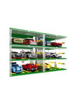 Конструктор SY «Парковка Трехэтажный гараж» SY5109 / 130 деталей