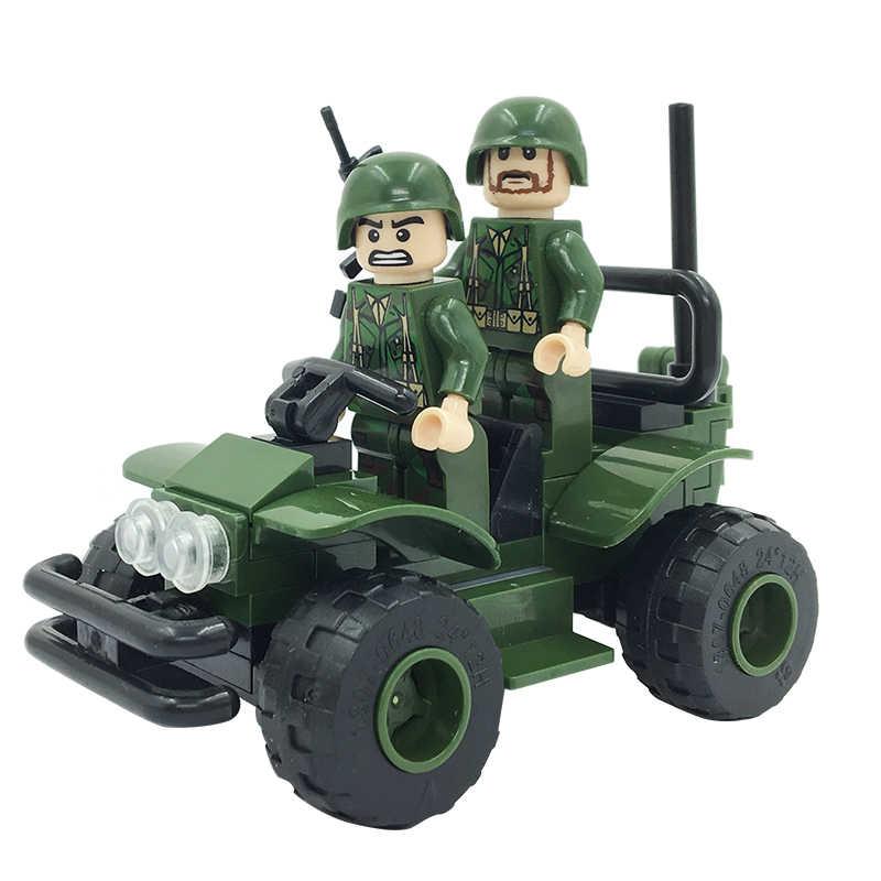 Конструктор Winner «Танковое сражение:  Группа разведки» 1301 / 117 деталей