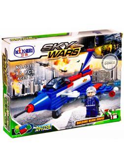 Конструктор Winner «Воздушное сражение: Самолет пилотажной группы ВВС» 1319 / 93 деталей