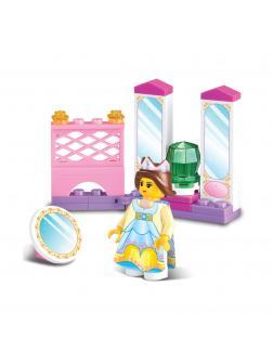 Конструктор «Принцесса в зеркальной комнате» B0237 / 29 деталей