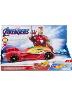 Машинка Большая Hot Wheels «Репульсоры Железного человека» Marvel