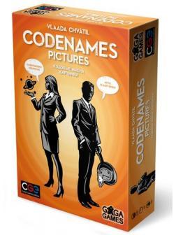 Настольная игра Кодовые Имена. Картинки от GaGa