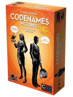 Настольная игра Кодовые имена. Картинки. XXL от GaGa