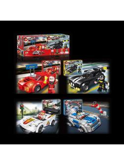 Конструктор Dizuan «Speed Cars» 6660 / Микс