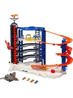 Игровой набор Трек Hot Wheels «Супергараж» FML03 от Mattel