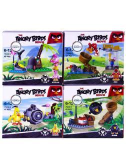Конструктор «Angry Birds» 79248 / 4 шт.