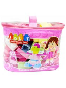 Конструктор JDLT Puzzle Genius «Волшебная сумка: Розовый пингвин» 6003-1 / 42 деталей