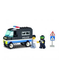 Конструктор Enlighten Brick «Полицейский фургон» 126 / 87 деталей