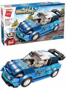 Конструктор Qman «Гоночный автомобиль Rhythm WRC-36» 4201-3 Mine City: Racing Car Series / 168 деталей