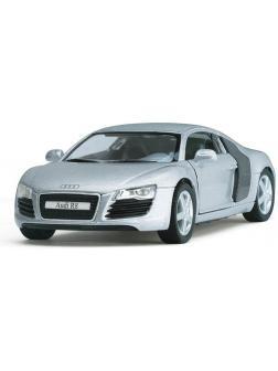 Машинка инерционная Kinsmart «Audi  R8» 1:36 / KT5315D