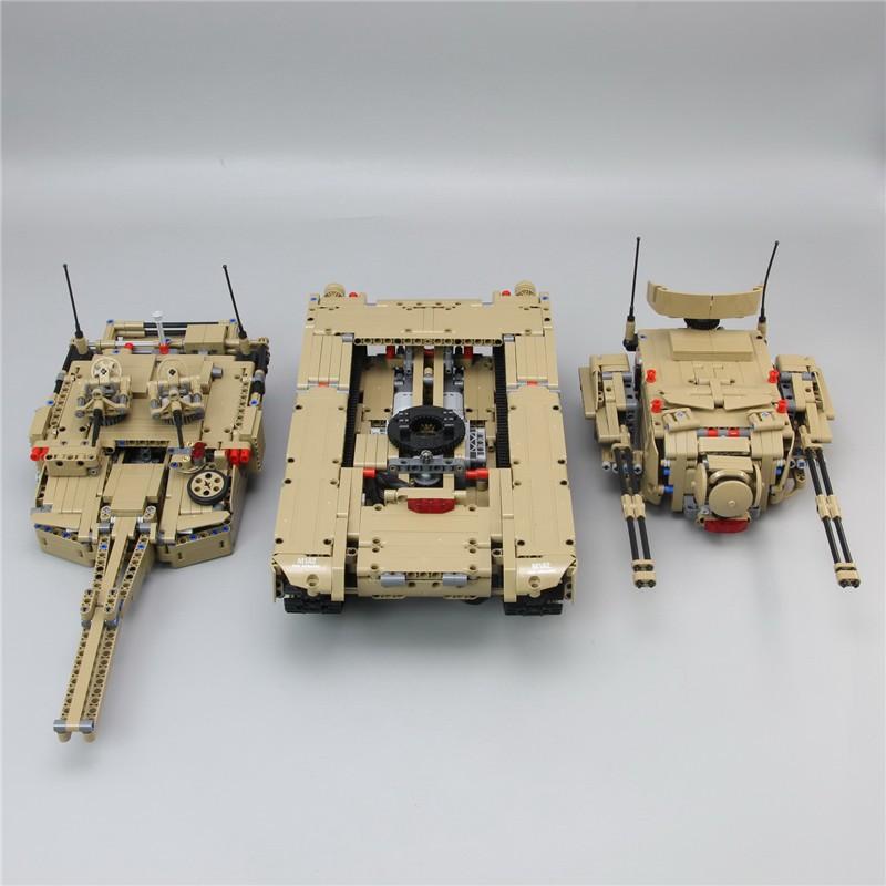 Конструктор Lp «Танк» 2в1 Р/У 20070 (Technic) 1572 детали