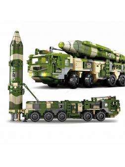 Конструктор Sembo Block «Противокорабельная баллистическая ракета DF21D» 105795 / 1230 деталей