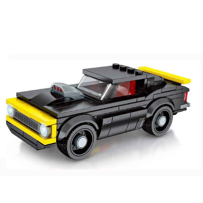 Конструктор Sembo Block «Гоночный автомобиль» 607021-607024 (4 вида) / 156-198 деталей