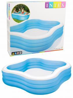 Детский надувной бассейн Intex «Волна» 57495 229 х 229 х 56 см, от 6 лет