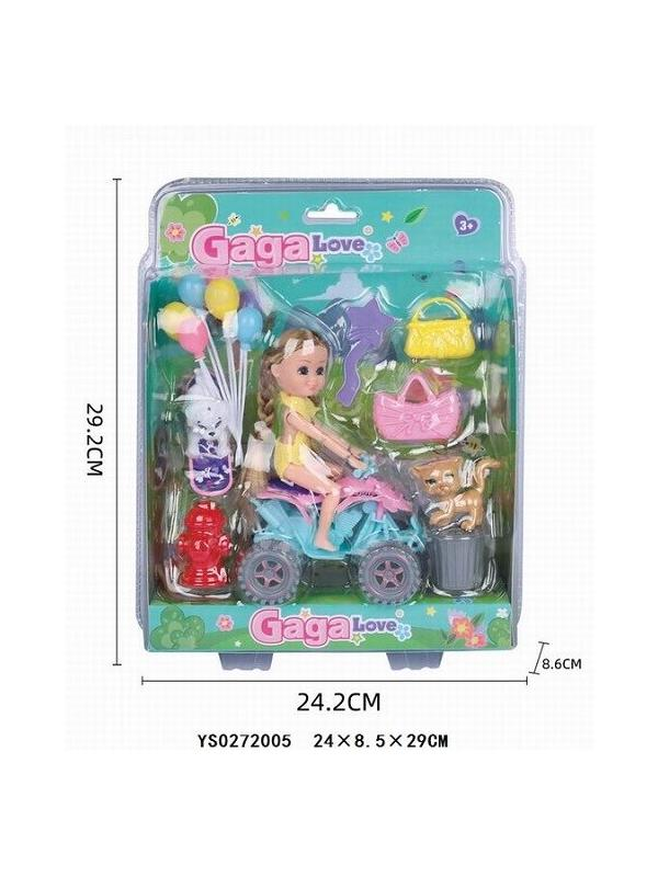 Кукла на машине с домашними питомцами «GAGA Love» / YS0272005