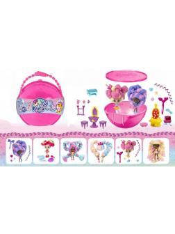 Большой полушар Куклы Candylocks «Сахарная милашка» с мебелью / В1163