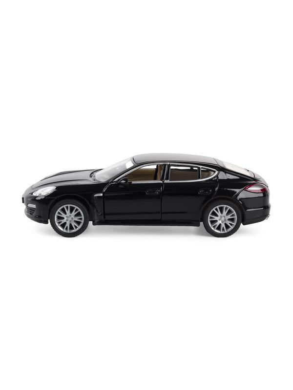 Инерционная металлическая машинка Kinsmart «Porsche Panamera S» 1:40 / KT5347 / Черная