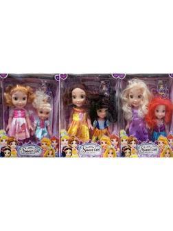 Набор кукол Sweet girl 25 см, 6 видов 9030
