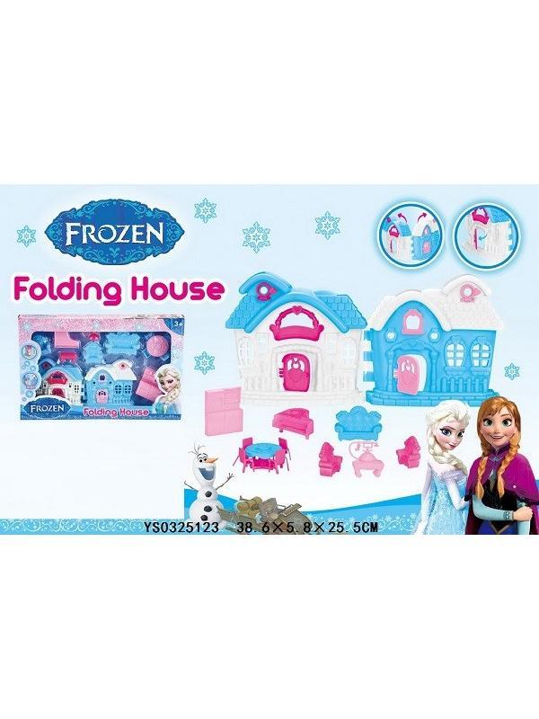 Домик складной Folding House «Холодное сердце» с мебелью / YS0325123