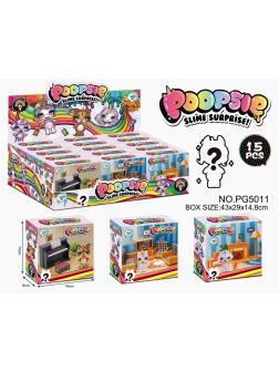 Питомцы Poopsies «Гостиная» 15 штук PG5011 / 3 вида