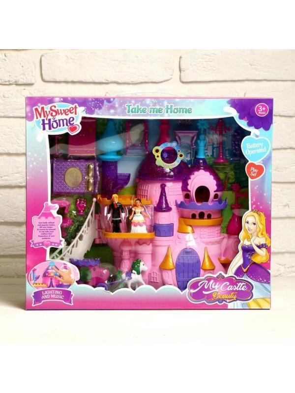 Замок для кукол «Мой прекрасный Замок» с героями и мебелью / YS0305847