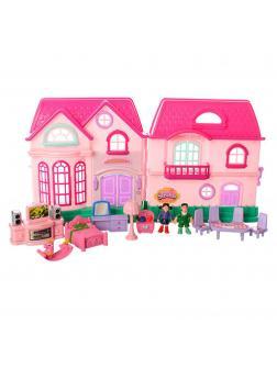 Домик для кукол «Мой прекрасный Дом» с мебелью / 16526D