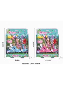 Кукла на байке с домашним питомцем «GAGA Love» / YS0272001