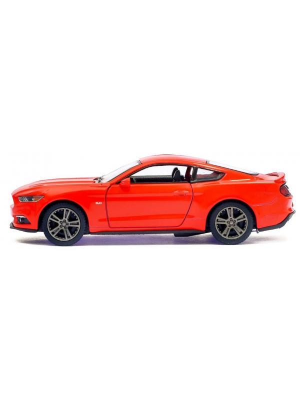 Металлическая машинка Kinsmart 1:38 «2015 Ford Mustang GT» KT5386D инерционная / Микс