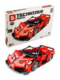 Конструктор Sheng Yuan «Lamborghini Poison 1:14» 8606 / 1213 деталей