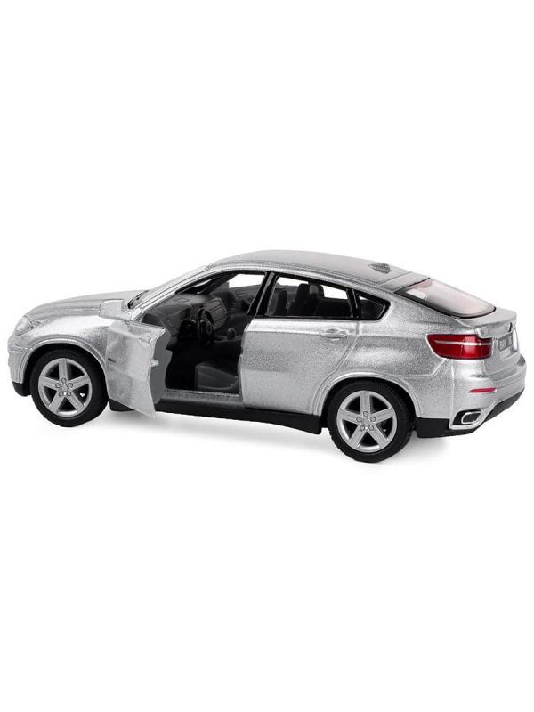Металлическая машинка Kinsmart 1:38 «BMW X6» KT5336D, инерционная / Микс