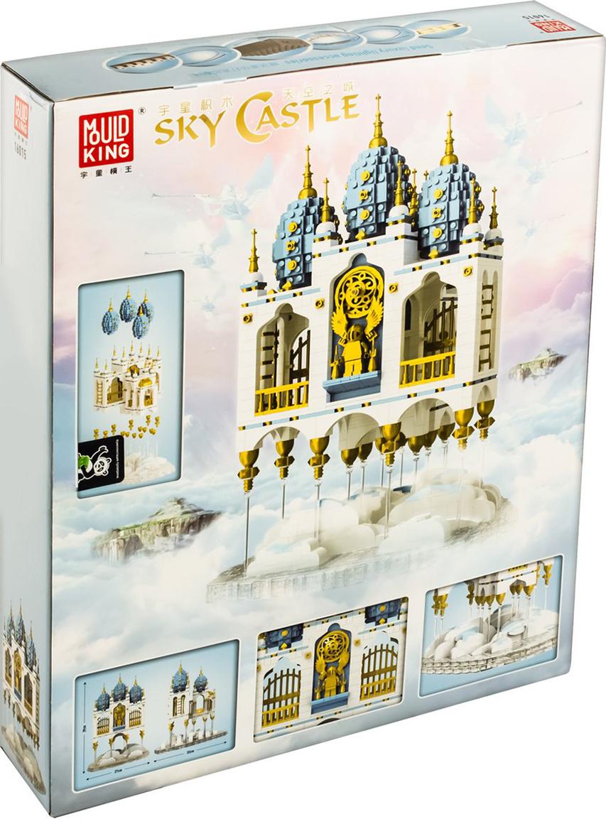 Конструктор Mould King «Небесный замок» 16015 (Creator Expert) / 2866 деталей