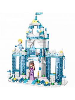 Конструктор QS08 «Волшебный ледяной замок» 20055 / 501 деталь