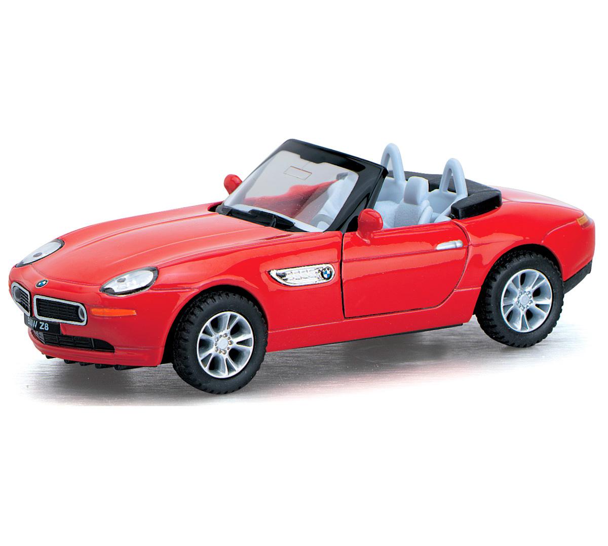 Инерционная металлическая машинка Kinsmart «BMW Z8» 1:36 / KT5022