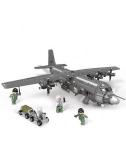 Конструктор XINGBAO «Военный самолет АС130» XB-06023 / 1713 деталей